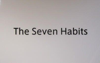「働き方改革」推進中!ミーティングスペースに導入された「7つの習慣®」とは?