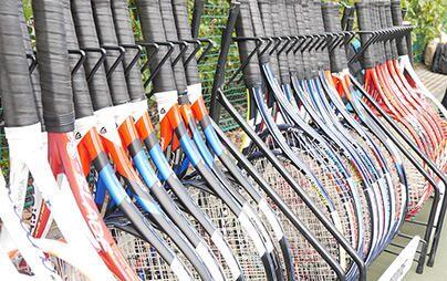 あなたのテニスを一瞬で解析!オススメのラケットがすぐに分かる「ブリヂストン スマートフィッティング」試打会