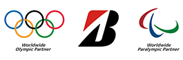 Worldwide Olympic Partner × Bridgestone × Official Partner